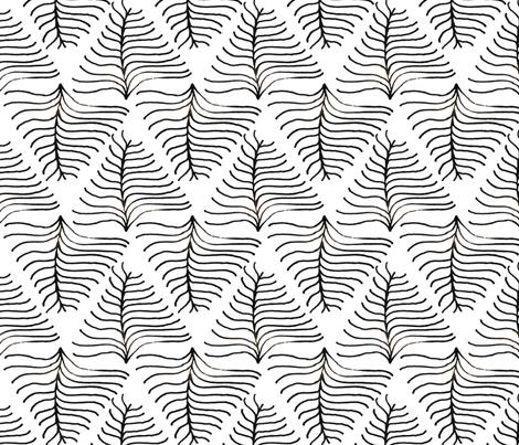 Fern fabric by sharri on Spoonflower - custom fabric
