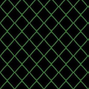 Sawtooth Lattice Green Black