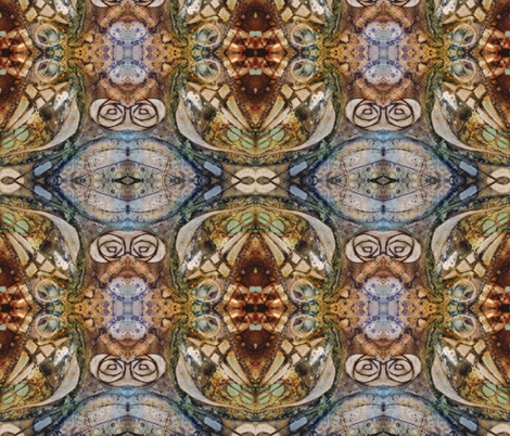 microcosmic five fabric by liberation on Spoonflower - custom fabric