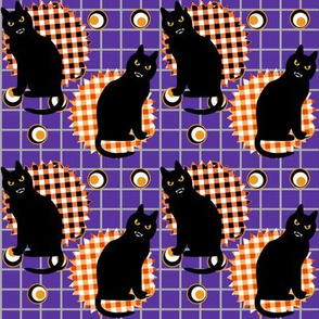 Black Cats and Gingham Checks