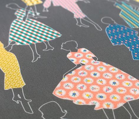 Dress Sampler || vintage dresses pattern fashion feedsack feed sack garment women sewing