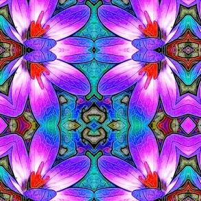 Crocus Corner Pattern