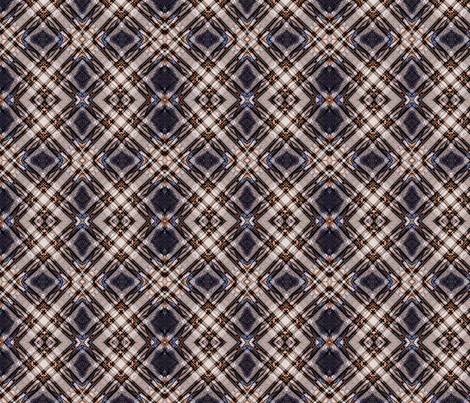 Diagonal Plaid2 fabric by koalalady on Spoonflower - custom fabric