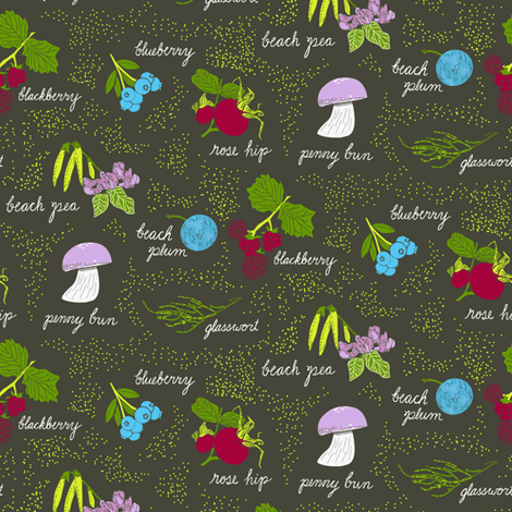 A hike in the dunes fabric by nlsd on Spoonflower - custom fabric