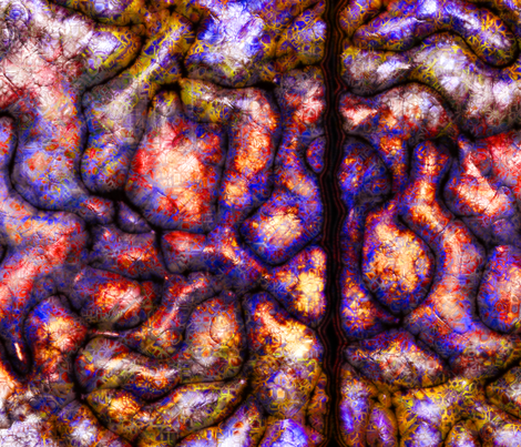 —neurallacies—10 fabric by thoughtstorms on Spoonflower - custom fabric