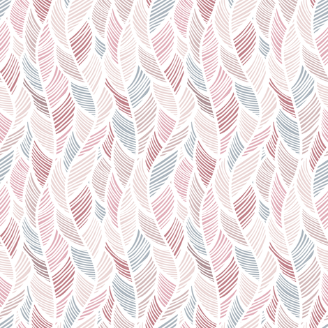 Feather_Waves fabric by jallom on Spoonflower - custom fabric