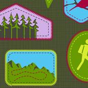 Julie's Hiking Badges
