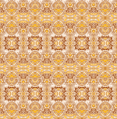 Golden Summer Afternoons fabric by edsel2084 on Spoonflower - custom fabric