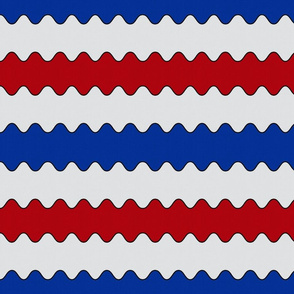 Horizontal Americana Wave