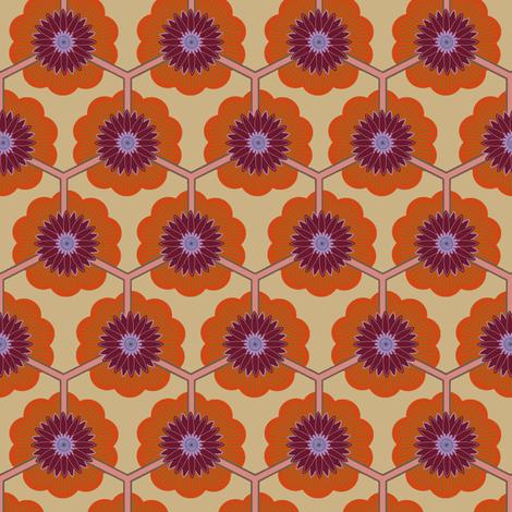 lotus dawn fabric by keweenawchris on Spoonflower - custom fabric