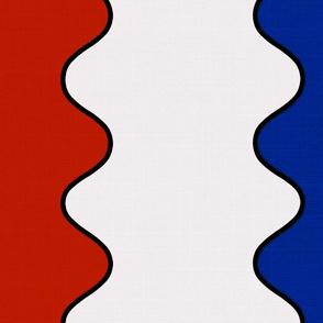 Vertical Americana Wave