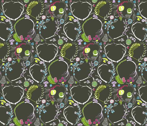Waldeinsamkeit fabric by graceful on Spoonflower - custom fabric