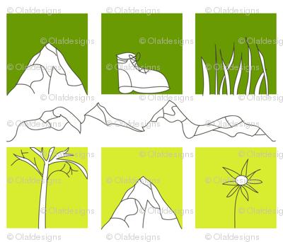 hiking squares