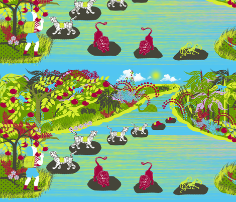 The Fantastical Hike fabric by bags29 on Spoonflower - custom fabric