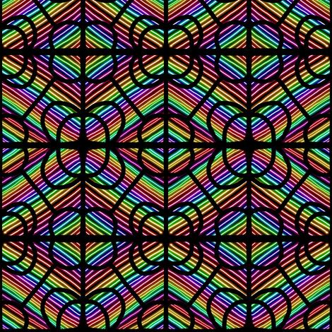 Stained Glass Window fabric by eve_catt_art on Spoonflower - custom fabric