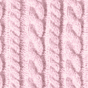 Knitting in pink