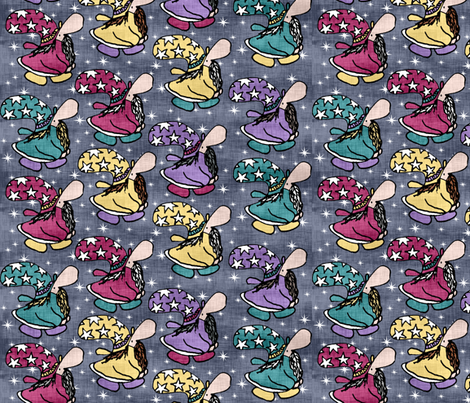 Wizards fabric by pond_ripple on Spoonflower - custom fabric