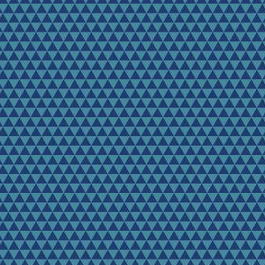 Space Triangles - Blue