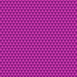 Space Triangles - Fuchsia