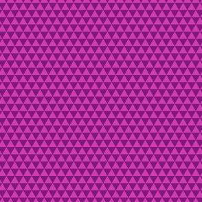 Space Triangles - Fuchsia