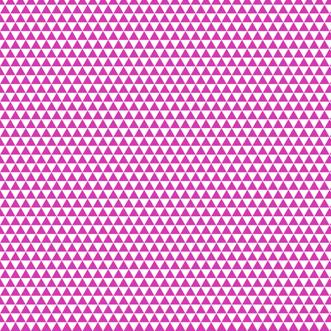 Space Triangles - Magenta fabric by siya on Spoonflower - custom fabric