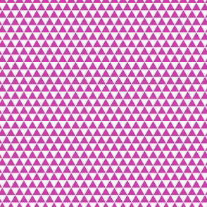 Space Triangles - Magenta