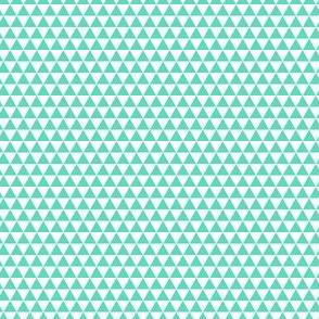 Space Triangles - Sea Foam