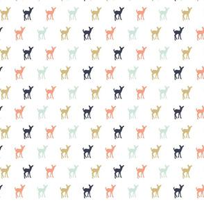 Multi Colored Fawn // Small Scale
