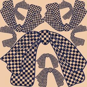 Applique bows, à la Schiaparelli, by Su_G