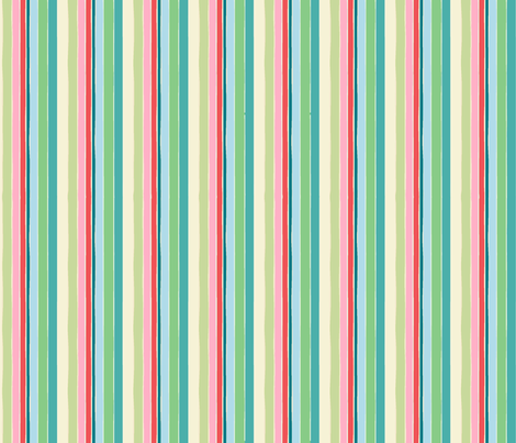 Stripes 1 - Go to Sheep Collection fabric by designed_by_debby on Spoonflower - custom fabric