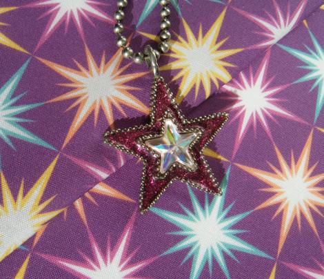 Lesser Stars - Fuchsia