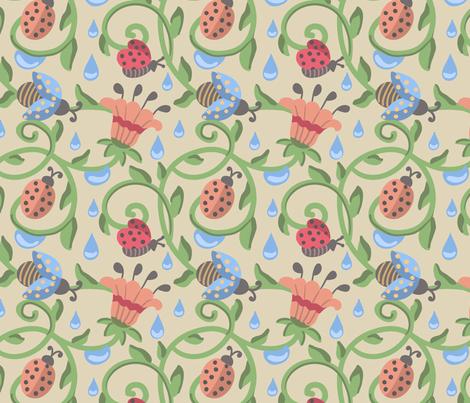 Beetle-01 fabric by milta on Spoonflower - custom fabric