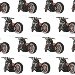 motorcycle cross stitch