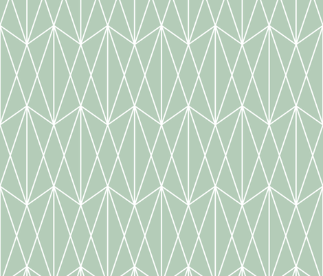 Diamond Grid - Olive Green fabric by kimsa on Spoonflower - custom fabric