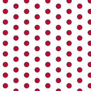 LadyBug Polka Dots