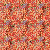 camo - multi on red