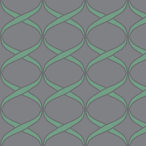 woven light green on grey