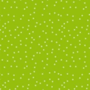 StofSterrenKlein_60cmstof_Groen