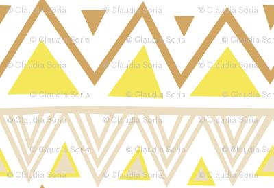 Pastel Tribal - Yellow