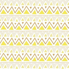 Pastel Tribal - Yellow
