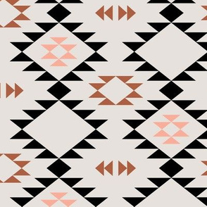Navajo - Pink Black Copper