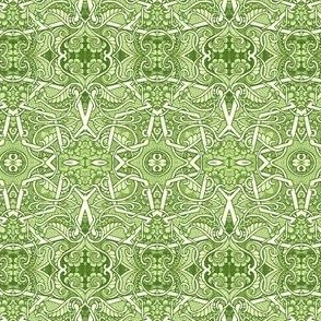 Dance of the Green Paisley