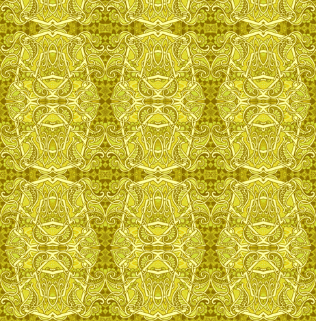 Pass the Mustard, Please fabric by edsel2084 on Spoonflower - custom fabric
