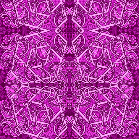 Mmmmore Than Just Magenta fabric by edsel2084 on Spoonflower - custom fabric