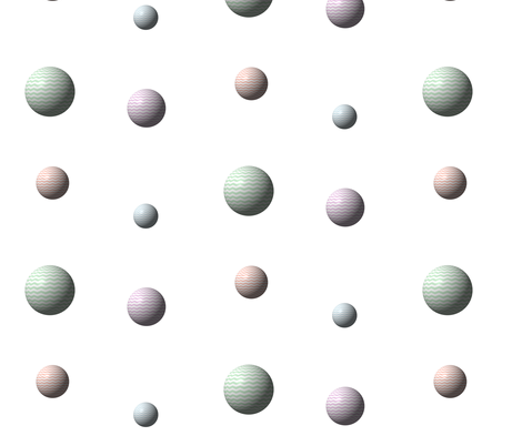 Chevrons Spheres fabric by peacoquettedesigns on Spoonflower - custom fabric