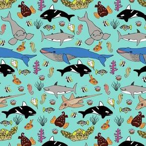 Leviathan sea creature friends