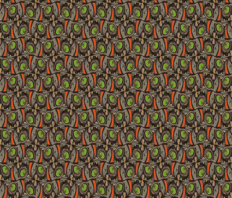 Olive & Pimento fabric by moreisbetter on Spoonflower - custom fabric