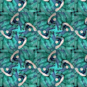 Batiklike bluegreen