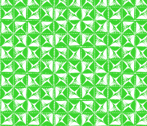 studs green on white fabric by susiprint on Spoonflower - custom fabric
