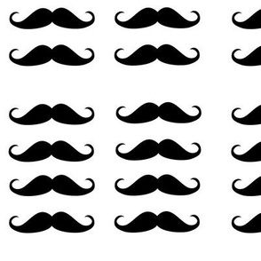 Eight mustaches